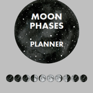 Moon Phases Planner